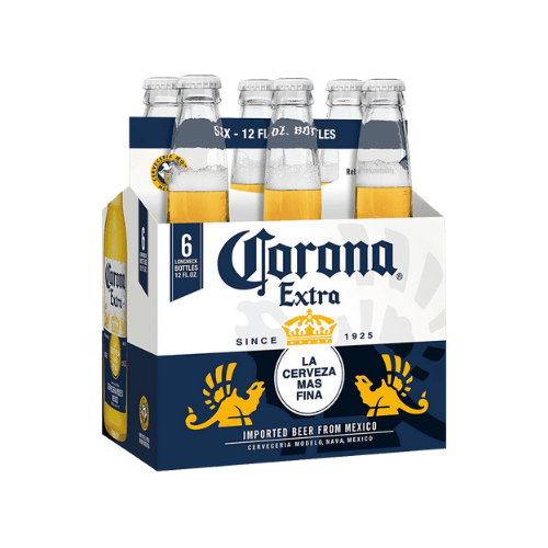 Corona Bottles 6 x 330ML Pack - Oasis