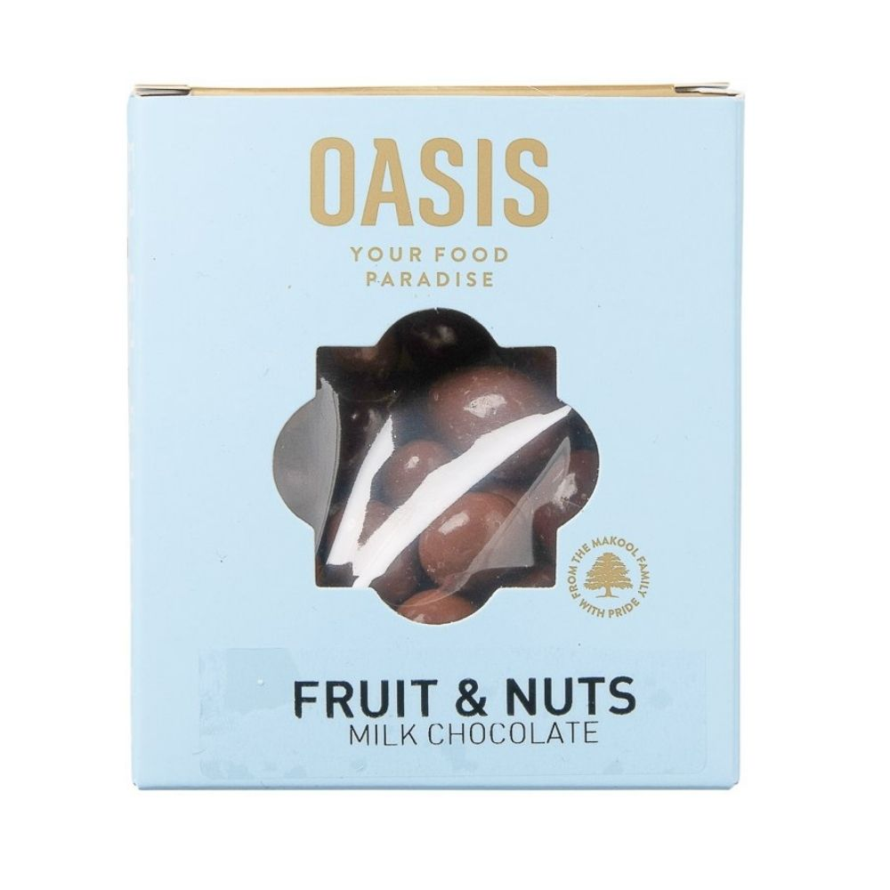 Oasis Fruit & Nut Mix Milk Chocolate 150G - Nuts and Dried Fruit | Oasis