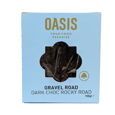 Oasis Gravel Road Rocky Road With Dark Chocolate 150G - Nuts and Dried Fruit | Oasis