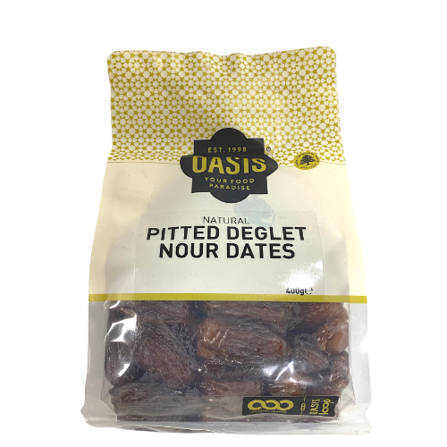 Oasis Pitted Deglet Nour Dates 400G - Oasis