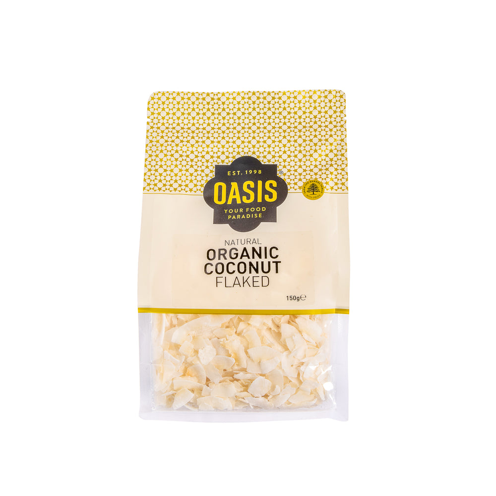 Organic coconut - flaked 150G - Dry goods | Oasis