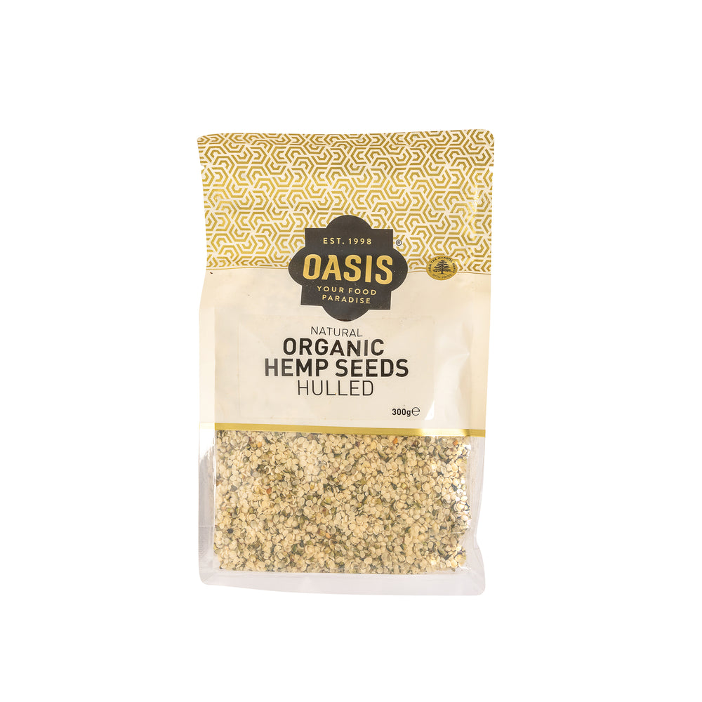 Organic hemp seeds, hulled 300g - Grains | Oasis
