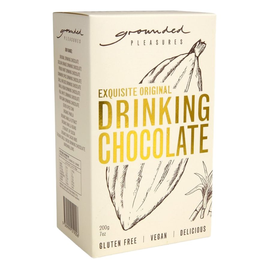 Original Drinking Chocolate 200G - Grounded Pleasures - Dry goods | Oasis