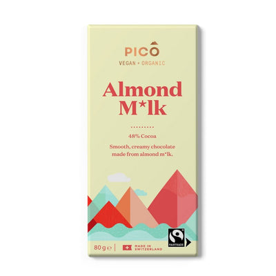 Pico Almond Milk 48% Cocoa Chocolate 80G - snacks | Oasis