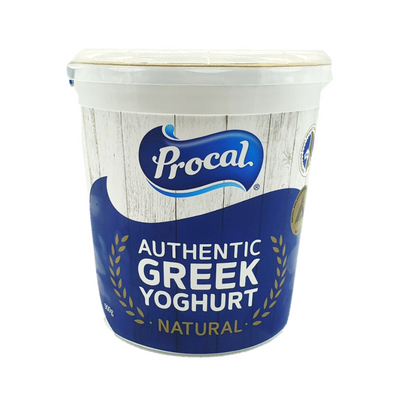 Procal Authentic Greek Yoghurt 900G - Dairy & Eggs | Oasis