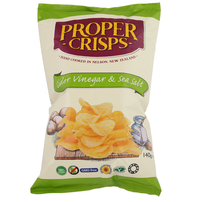Proper Crisps - Classic Regular Potato Range - Oasis