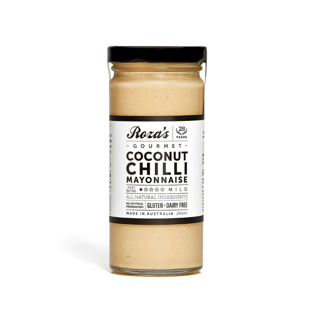 Roza's Gourmet Coconut Chilli Mayonnaise 240ML - Dry goods | Oasis