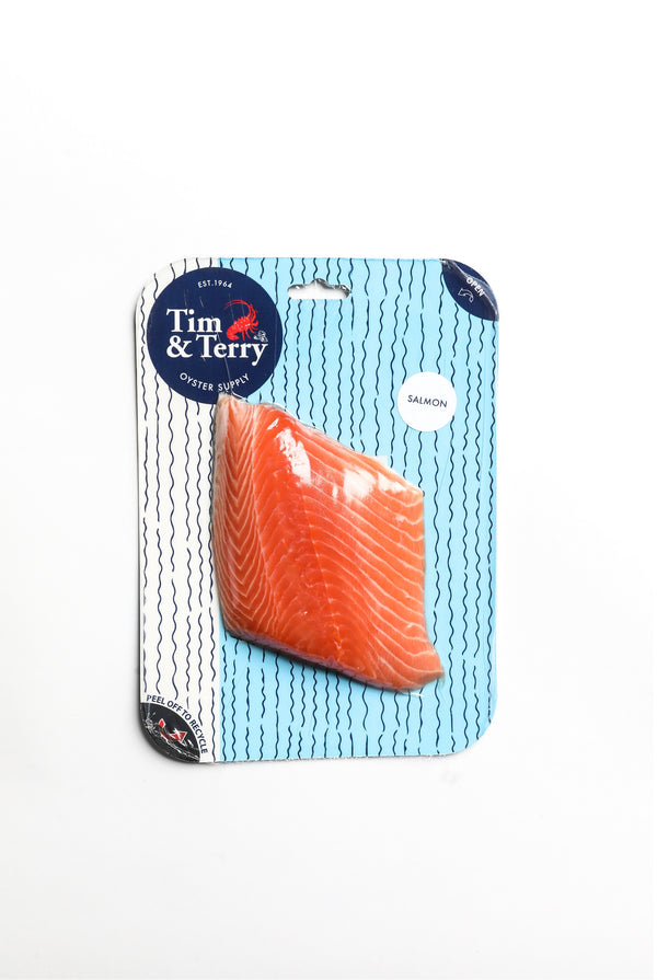 Tim & Terry Atlantic Salmon 160g (Skin on) - Seafood | Oasis