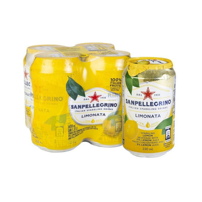 San Pellegrino Limonata Can 4 x 330ML - Beverages | Oasis