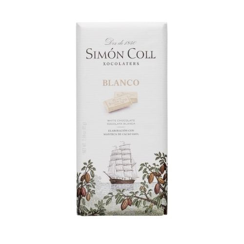 Simon Coll White Chocolate 85G - Oasis