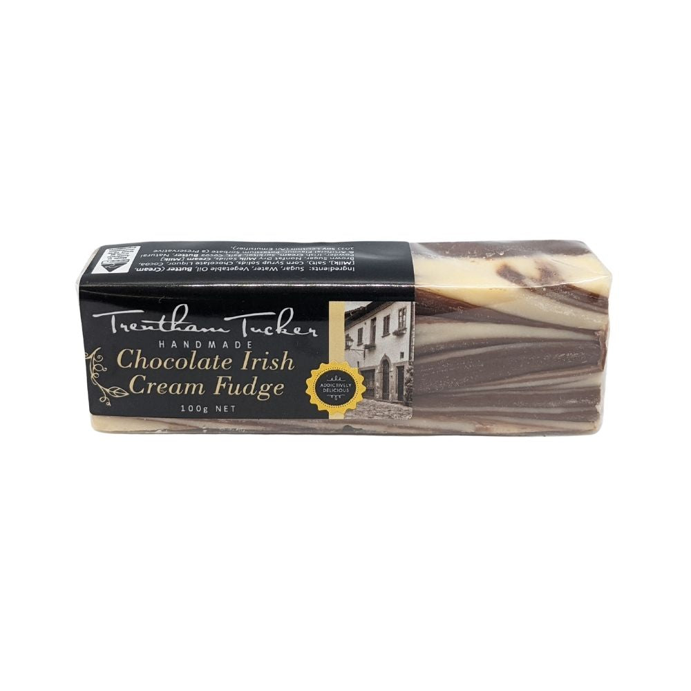 Trentham Tucker Chocolate Irish Cream Fudge 100G - Oasis