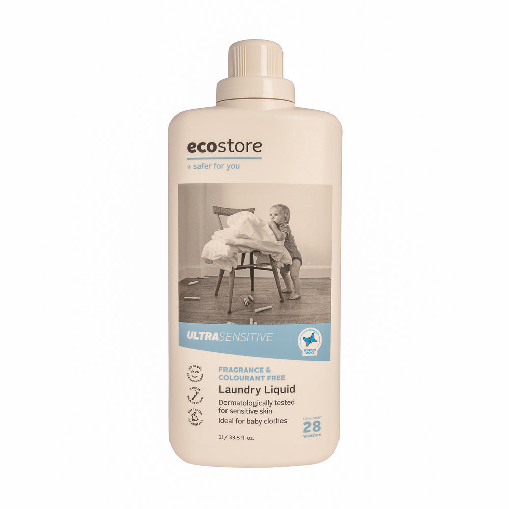 Ecostore Ultra Sensitive Laundry Liquid 1L - Oasis