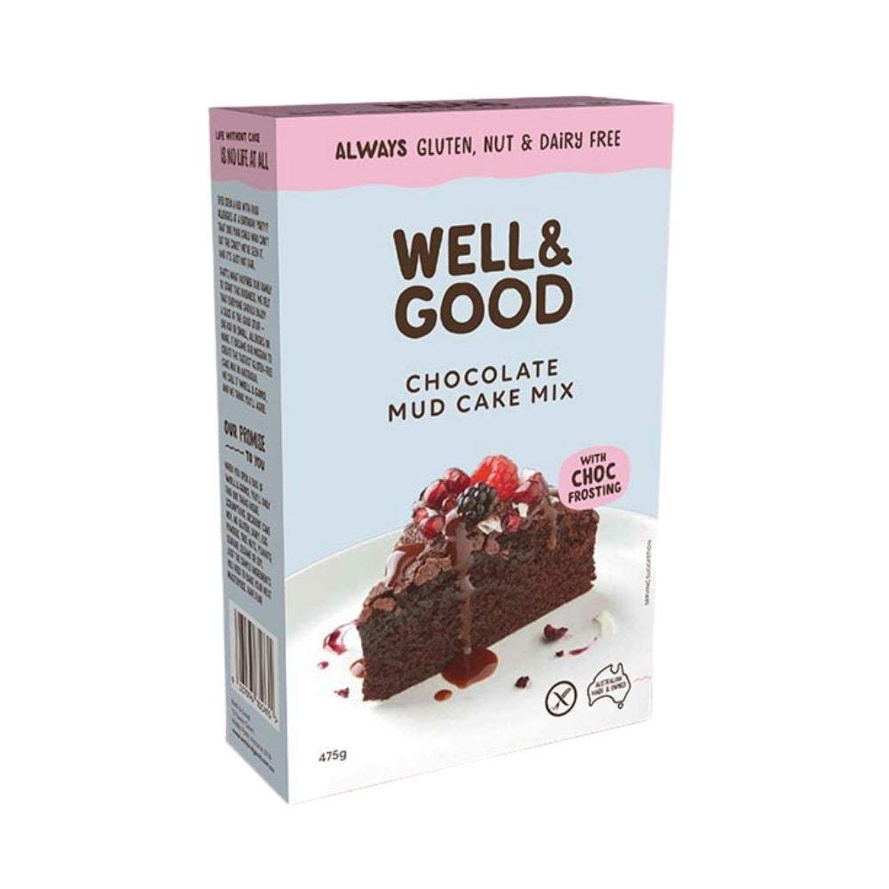 Well & Good Chocolate Cake Mix 475G - Oasis
