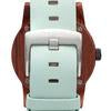 Load image into Gallery viewer, Leather Hampton Wooden Watch