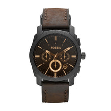 Load image into Gallery viewer, Machine Chronograph Brown Leather Watch
