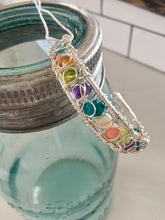 Load image into Gallery viewer, Small Woven Wire Bracelet - Multi-colour