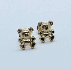 Children's Teddy Earrings