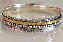 Load image into Gallery viewer, Silver Spinner Bangle