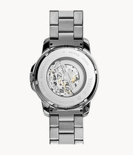 Load image into Gallery viewer, Grant Automatic Dark Stainless Steel Watch
