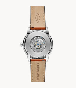 Townsman 48 mm Automatic Light Brown Leather Watch