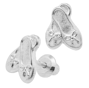 Children's Ballet Slipper Earrings