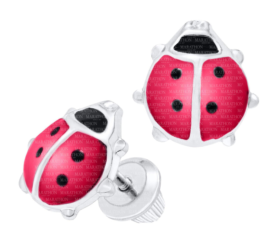 Children's Ladybug Earrings