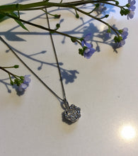 Load image into Gallery viewer, Diamond Cluster Pendant