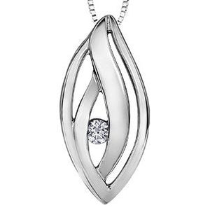 Northern Dancer Diamond Pendant