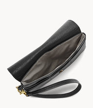 Load image into Gallery viewer, Flap Wristlet by Fossil - Black