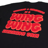 2Bop x Sidewing Wing Wing Situation Tee Black