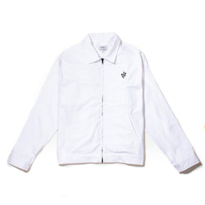 Slang Gas Station Jacket White