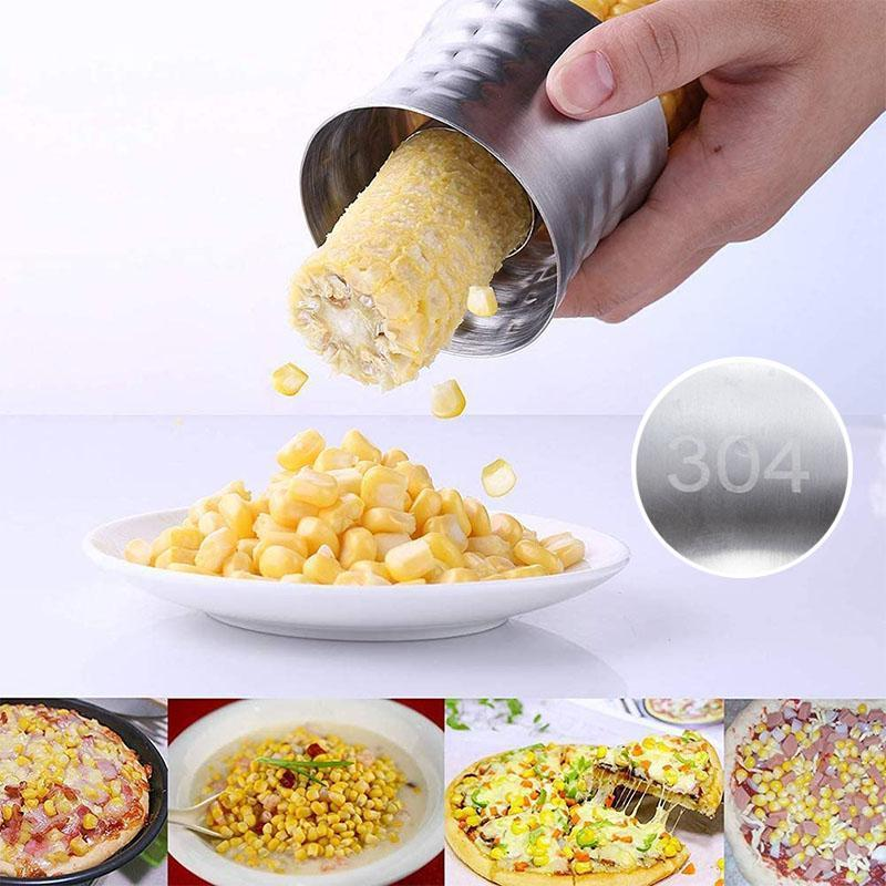 304 Stainless Steel Cob Corn Stripper