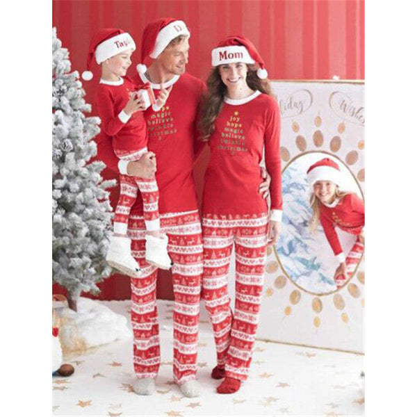 NEW Christmas Red Family Matching Pajamas