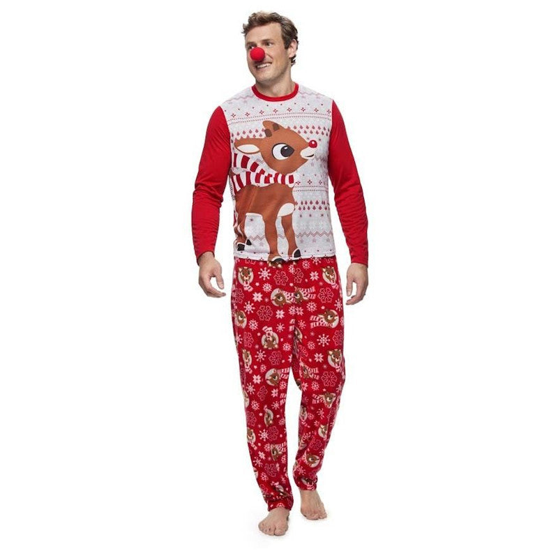 NEW Christmas Rudolph & Red-Nosed Reindeer Family Matching Pajamas
