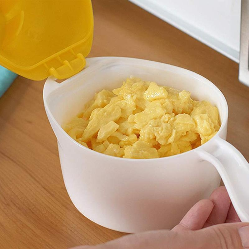 Microwaveable Egg Scrambler