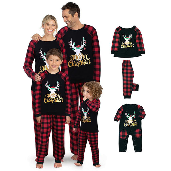 NEW Christmas Deer Christmas Family Matching Pajamas
