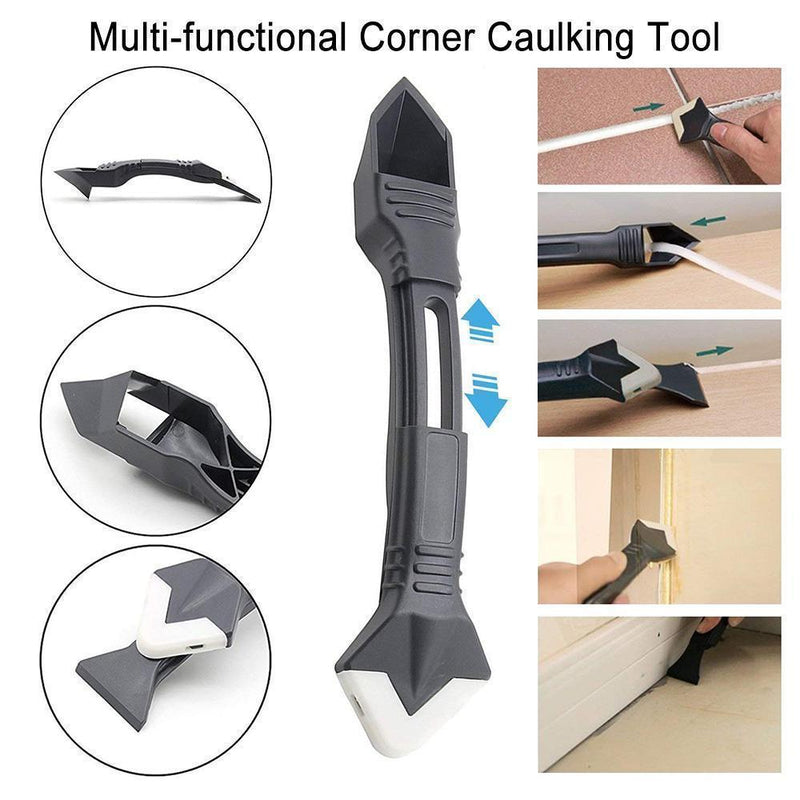 3 IN 1 SILICONE CAULKING TOOLS(STAINLESS STEELHEAD)