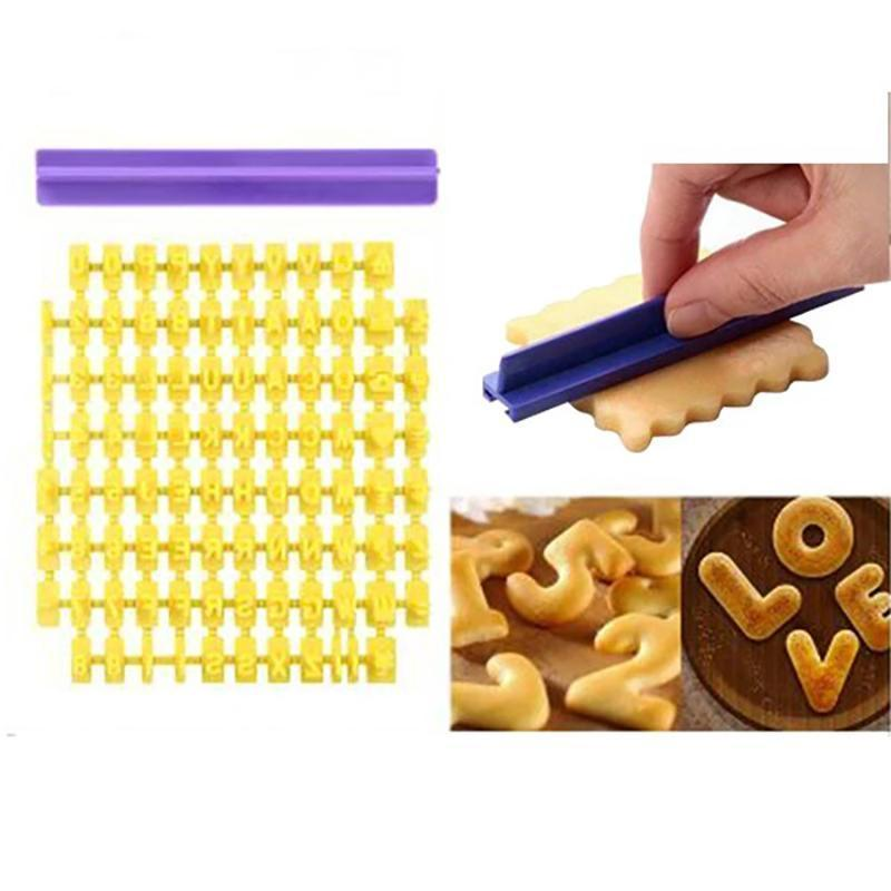 Alphabet Cookie Stamp