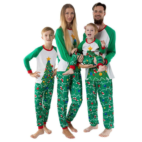 NEW Christmas Tree Green Family Matching Pajamas