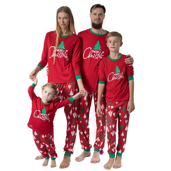 NEW Christmas Tree Red Family Matching Pajamas