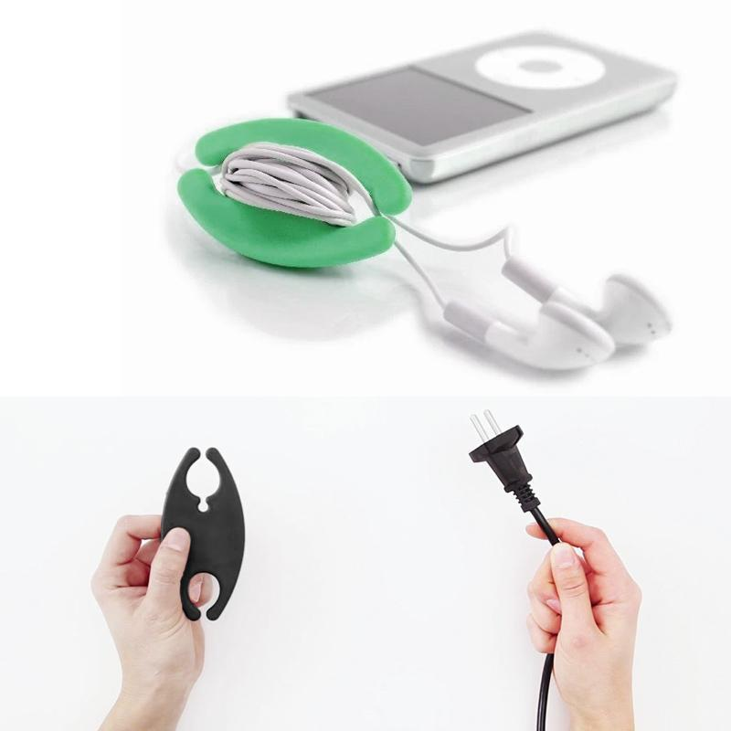 Silicone Earphone Cable Storage Box