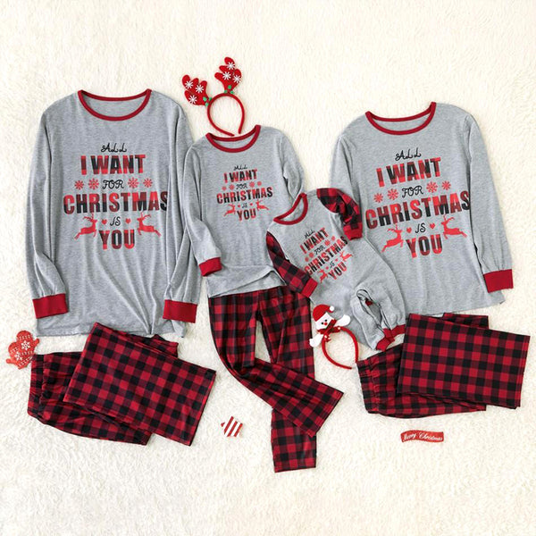 NEW Christmas Wish Family Matching Pajamas
