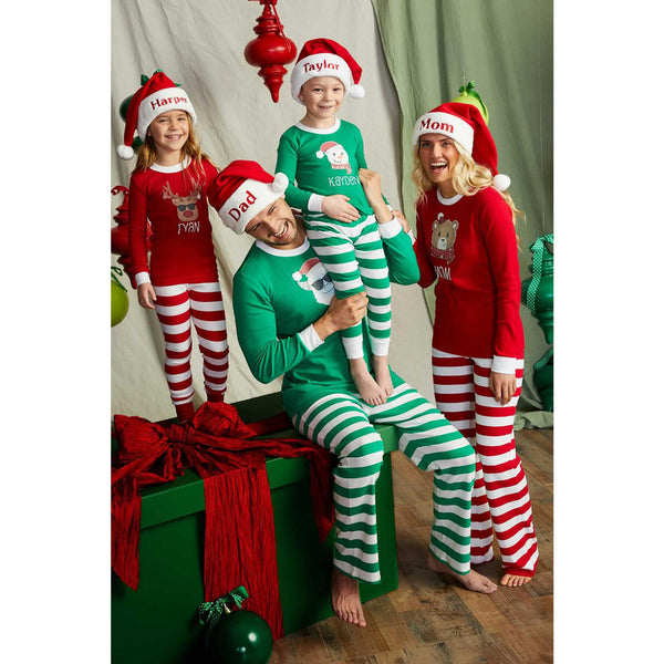 NEW Christmas Santa Claus Family Matching Pajamas
