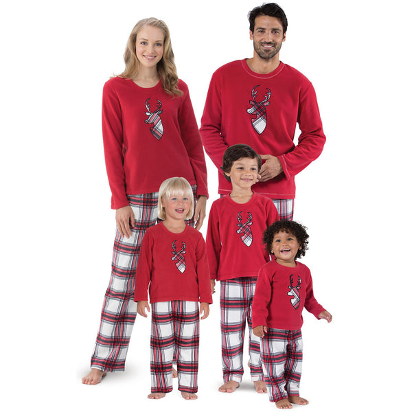 NEW Christmas Red Elk Family Matching Pajamas