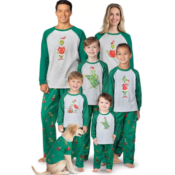 NEW Christmas Leap Frog Family Matching Pajamas