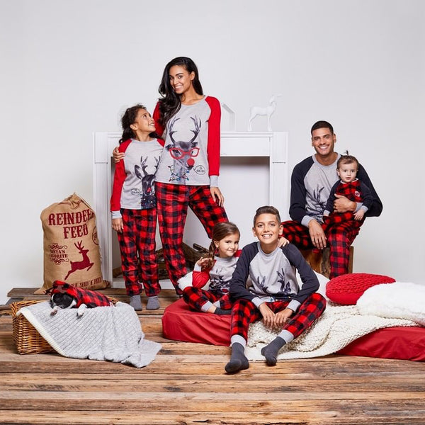 NEW Christmas Reindeer Family Matching Pajamas