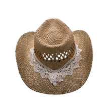 """Upload the picture in the gallery viewer, straw hat """"Valencia"""""""