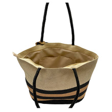 """Load the picture in the gallery viewer, shopper straw bag """"Leo"""""""