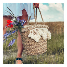 """Load the picture into the gallery viewer, basket bag """"Ibiza"""""""