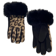 """Load the picture in the gallery viewer, gloves """"Soft Leopard"""""""